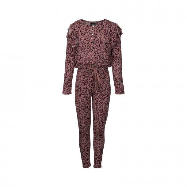 SOFIE SCHNOOR - Buksedragt i pink leo