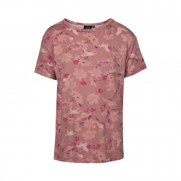 SOFIE SCHNOOR - T-Shirt i flowerbirds..