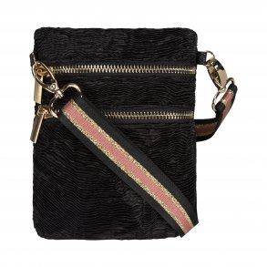 2130cb92e22 SOFIE SCHNOOR - Taske i sort med rosa-guld strop