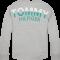 TOMMY HILFIGER - Langærmet bluse i grå med tryk på ryggen..