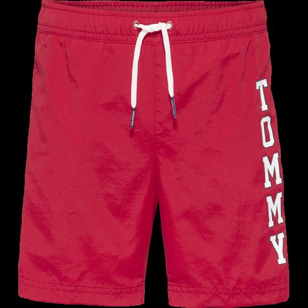 TOMMY HILFIGER - Badeshorts i røde