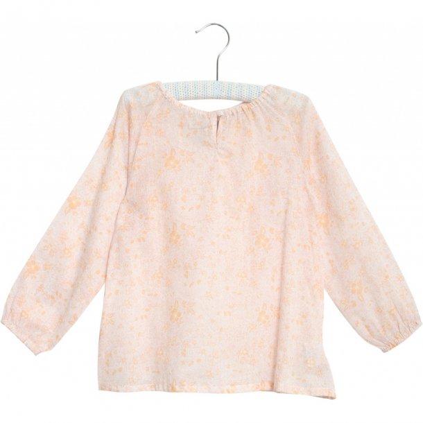 WHEAT - Skjorte i creme-rosa. Felia..