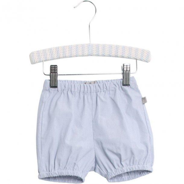 WHEAT - Shorts i lyseblå stribet. Knud