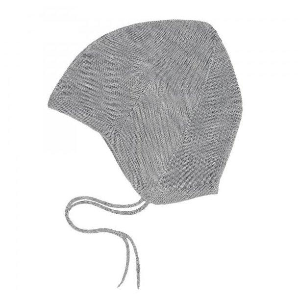 FUB - Babyhue i grå uld
