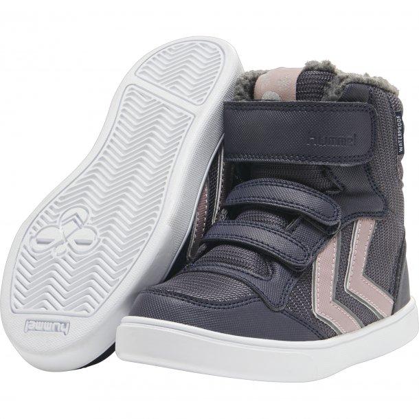 HUMMEL - Vinter Basketstøvle med TEX i støvet lilla