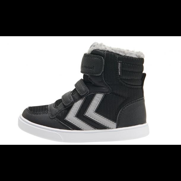 HUMMEL - Vinter Basket støvle med TEX i sort. BASIS