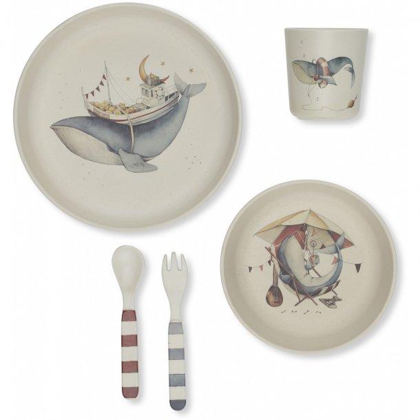 KONGES SLØJD - Whale dinner set