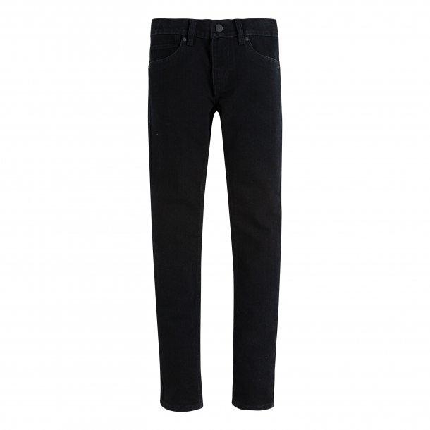 LEVIS - Jeans i sort vask model 510