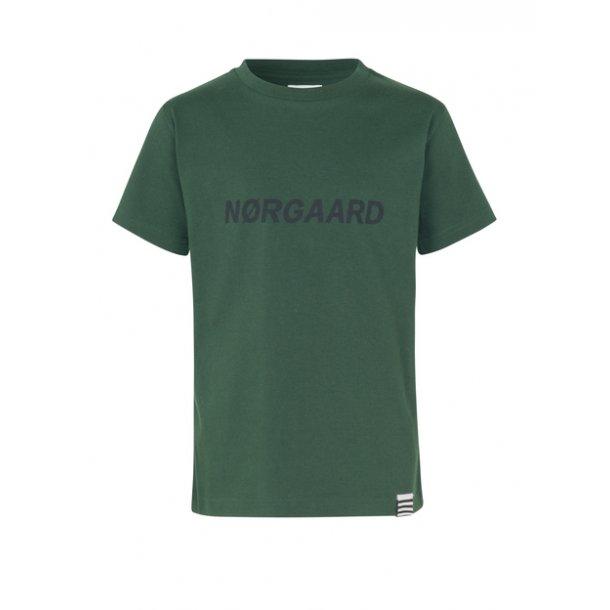 MADS NØRGAARD - T-Shirt i mørkegrøn. Thorlino