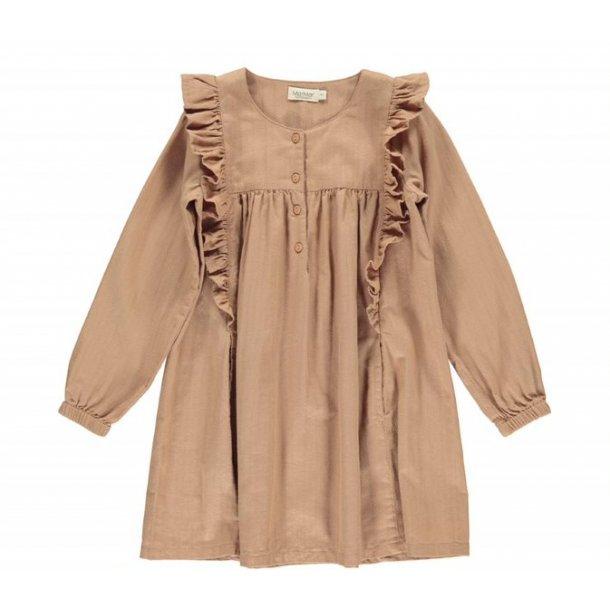 MAR MAR - Kjole i rose brown. Dorvia