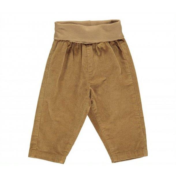 MAR MAR - Baby fløjlsbukser i sandfarvet. Pam
