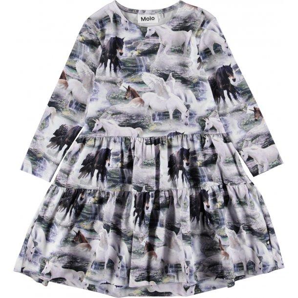 MOLO - Kjole med enhjørninge. Chia
