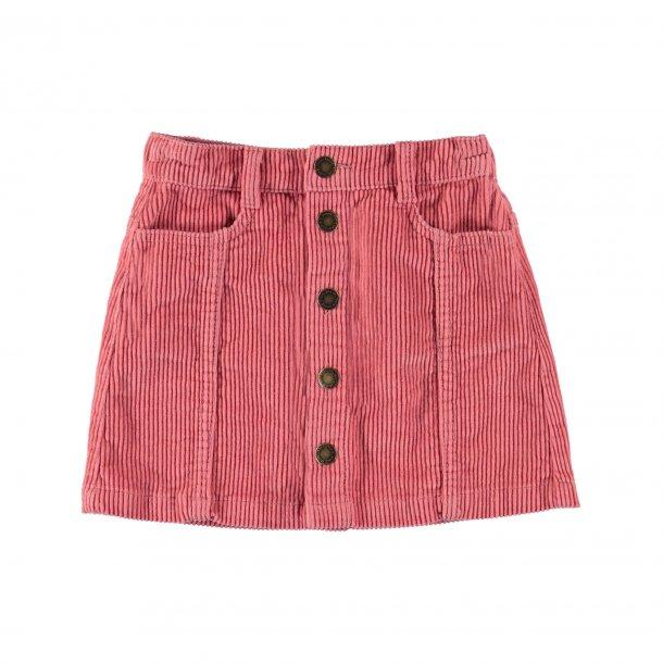 MOLO - Nederdel i rosa fløjl. Bera