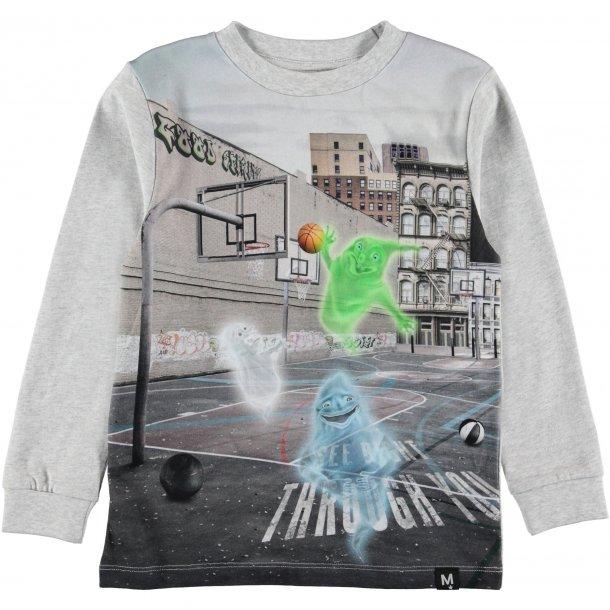 MOLO - Langærmet bluse i Ghost Basket. Renzi
