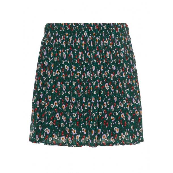 NAME IT - Nederdel i grøn med små blomster