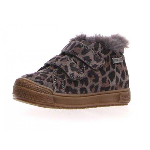 NATURINO - Leopard støvlet med foer og TEX