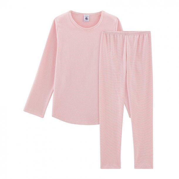 PETIT BATEAU - Nattøj i lyserød stribet