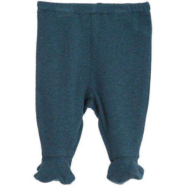 SERENDIPITY - Baby bukser med fod i atlantic. BASIC