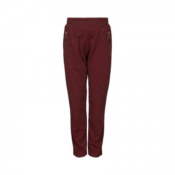 SOFIE SCHNOOR - Bukser med let glimmer i Earth Rose