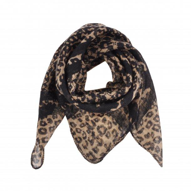 SOFIE SCHNOOR - Tørklæde i leopard