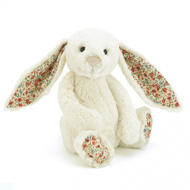 JELLYCAT - Bashful blossom kanin i Råhvid 31cm