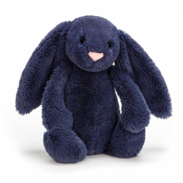 JELLYCAT - Bashful kanin i Navy 31cm