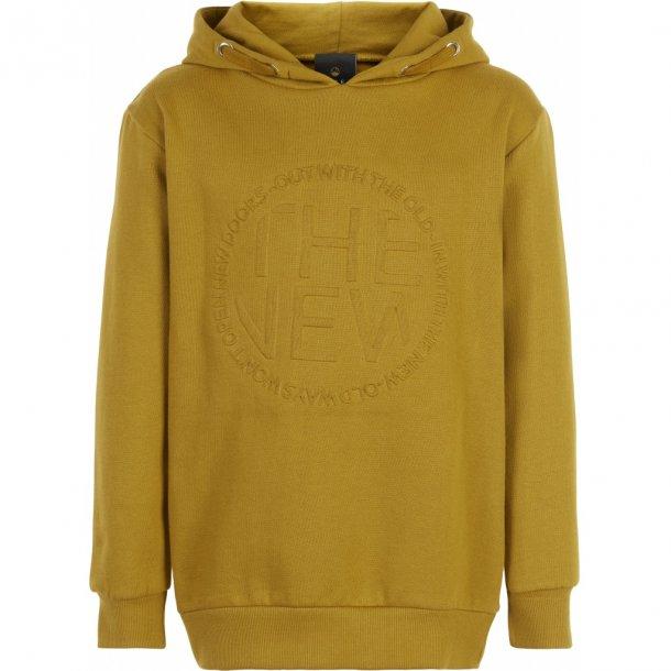 THE NEW - Hættesweatshirt i karrygul. Mallard