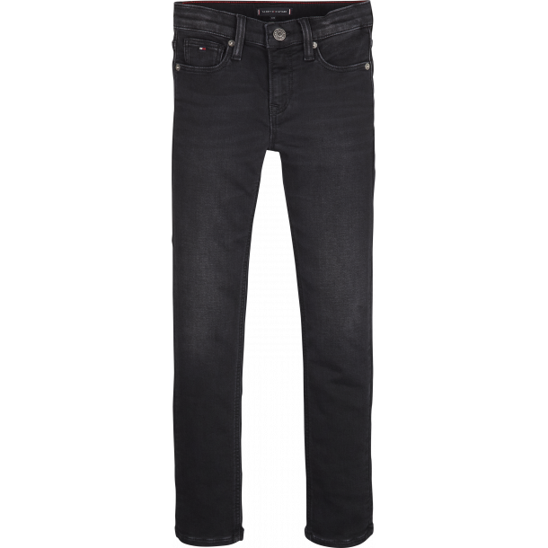 TOMMY HILFIGER - Jeans i jog black stretch