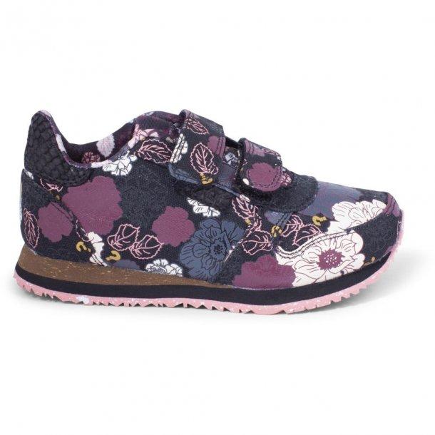 WODEN - Sneakers i blomstret. Mira