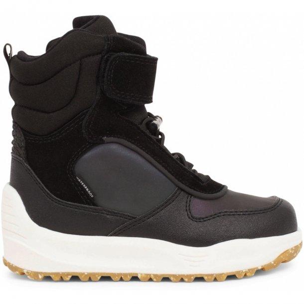 WODEN - Vinterstøvler med TEX i sort