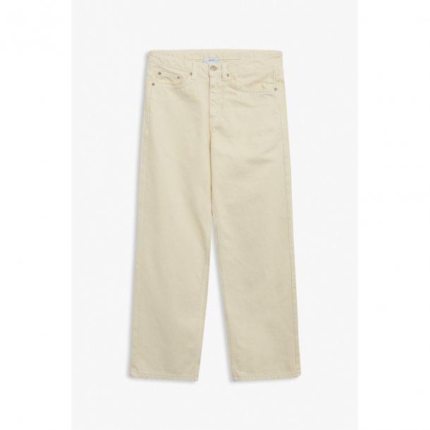 GRUNT - Vide bukser i offwhite