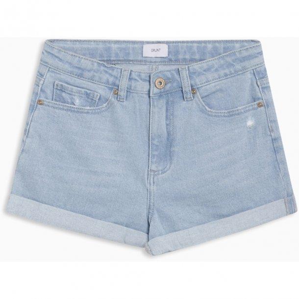 GRUNT - Moms pale light blue shorts