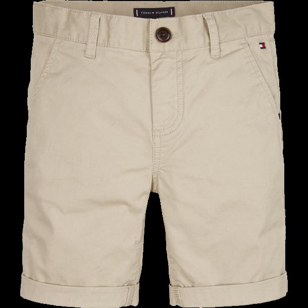 TOMMY HILFIGER - Chino-shorts i sand