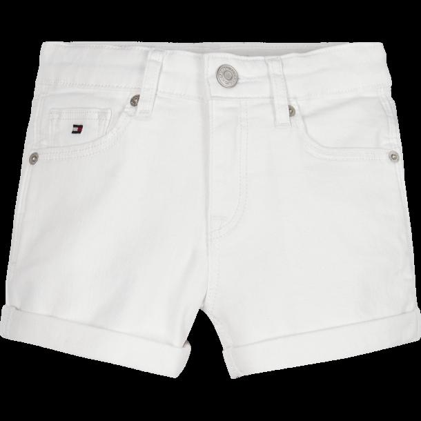 TOMMY HILFIGER - Shorts i hvide. Pige