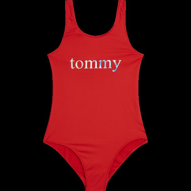 TOMMY HILFIGER - Badedragt i rød