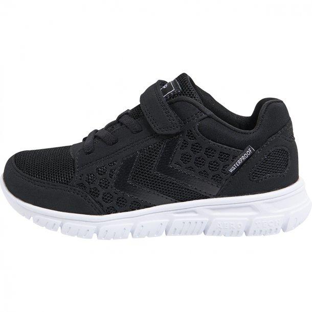 HUMMEL - Crosslite sneakers i sort med vandtær membran. NY