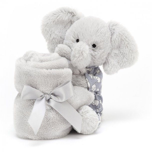 JELLYCAT - Nusseklud i elefant bedtime