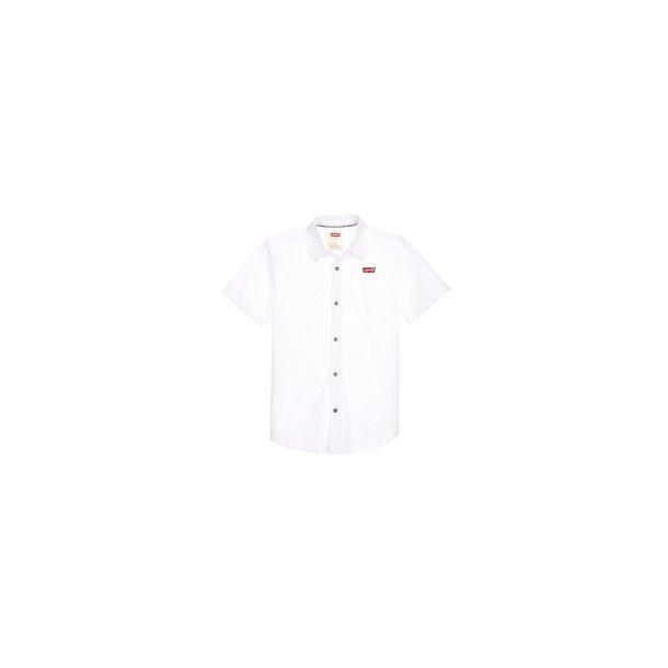 LEVIS - Skjorte med korte ærmer i hvid