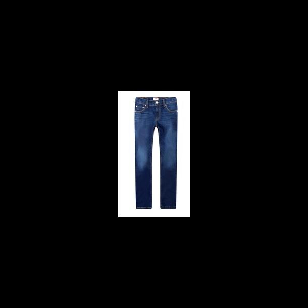 LEVIS - Jeans i mørk vask model 510