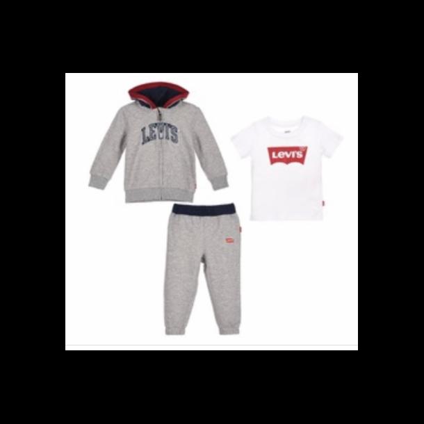 LEVIS - Joggingsæt i gråt UDEN t-shirt