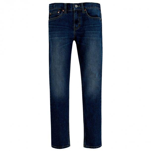 LEVIS - Jeans i mørkeblå.  Model 512 Dreng
