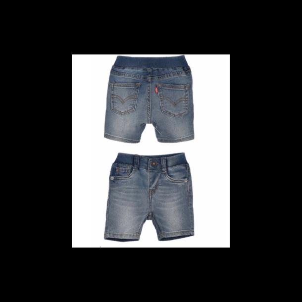 LEVIS - Shorts i denim med elastik