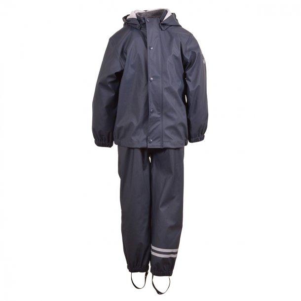 MIKKLINE - Regntøj i navy blå