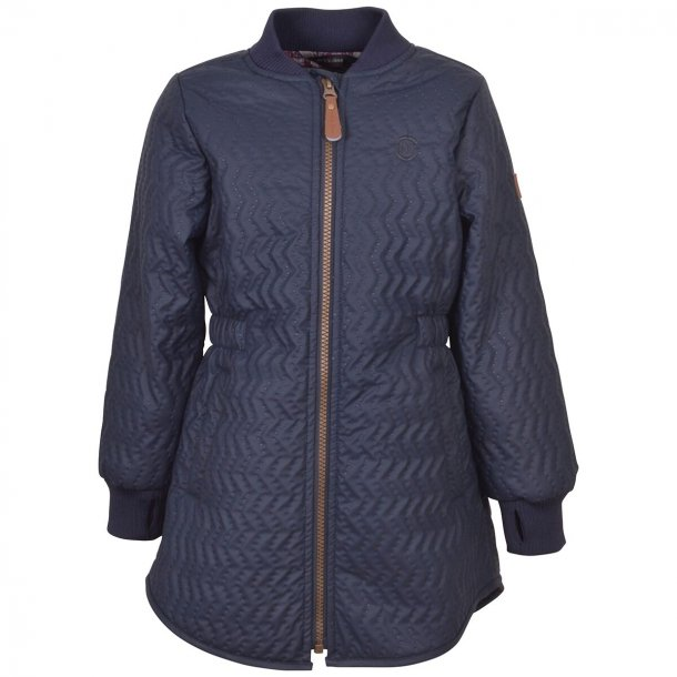 MIKKLINE - Duvet overgangs-frakke i Blue Nights