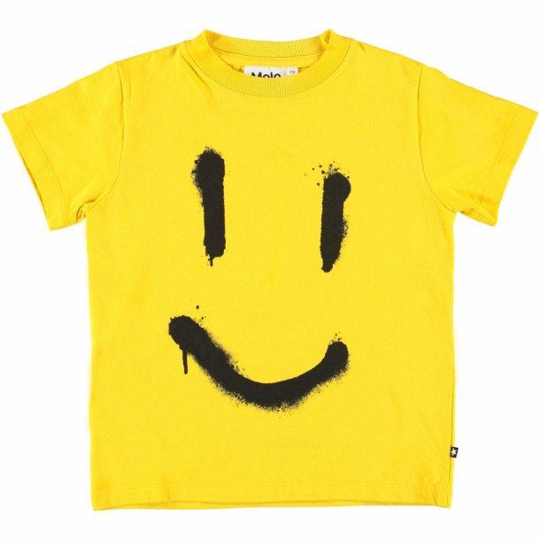 MOLO - T-Shirt i gul. Reeve