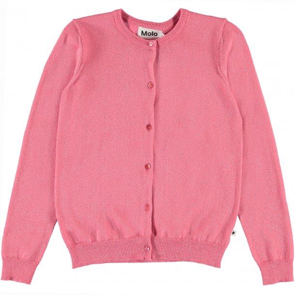 MOLO - Cardigan i pink glitter. Georgina  NY