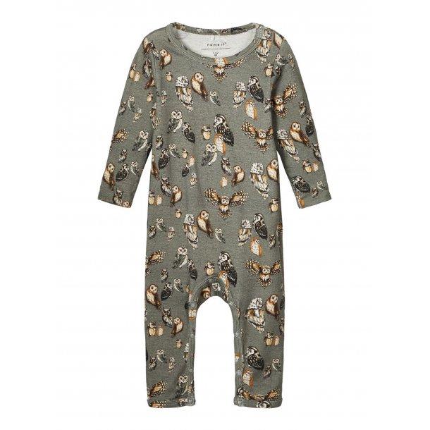 NAME IT - Babydragt med ugler