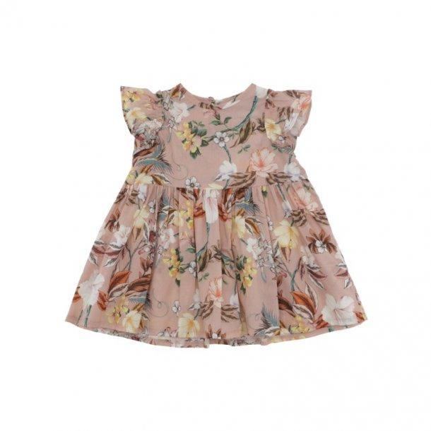 CHRISTINA ROHDE - Baby kjole i rosablomstert