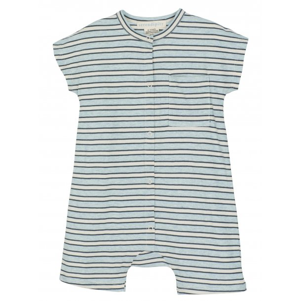 SERENDIPITY - Baby suit i nightcloud stribe