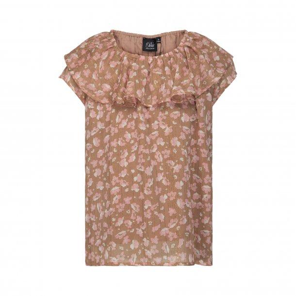 SOFIE SCHNOOR - Bluse i Light Caramel.